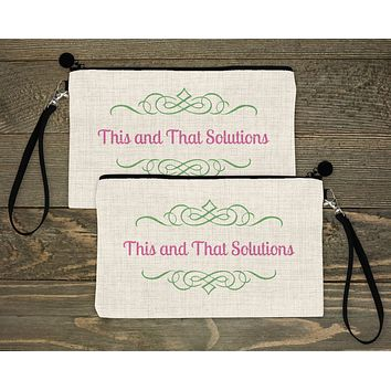 Personalized Cosmetic Bags | Custom Cosmetic Bags | Company Logo