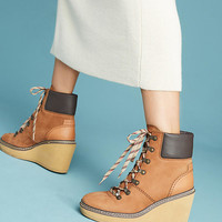 See by Chloe Wedge Hiking Boots