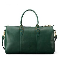 Emerson Weekender Bag | Green Leather | J.W. Hulme Co.