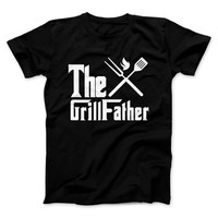 The GrillFather Dads BBQ T-Shirt Father's Day