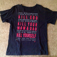 Vintage Marilyn Manson Shirt by kittenwithahat on Etsy