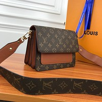LV Louis Vuitton M66825 Women Leather Tote Handbag Shoulder Bag Shopping Bag Fashion