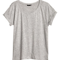 Top in Slub Jersey - from H&M
