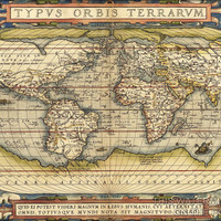 24x36 Poster; World Map 1570