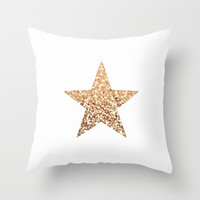Get this new *** GATSBY GOLD STAR ***  Throw Pillow by Monika Strigel *** New Design for the GATSBY COLLECTION ***