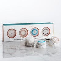 Luxe Combination Facial Brush Head Value 4-Pack - Clarisonic