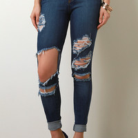 Hanging On By a Thread Skinny Jeans