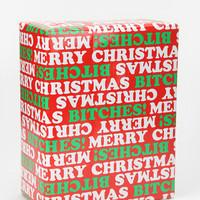 Xmas Bitches Wrapping Paper