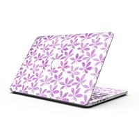 The Vibrant Pink and Purple Leaf - MacBook Pro with Retina Display Full-Coverage Skin Kit