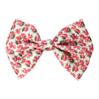 Ditsy Floral Hair Bow