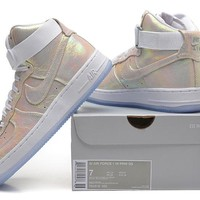 Nike Air Force 1 High 704516-100 White For Women Men Running Sport Casual Shoes Sneakers