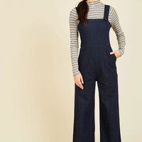 I've Got Your Throwback Overalls | Mod Retro Vintage Shorts | ModCloth.com