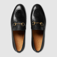 Gucci - Gucci Jordaan leather loafer