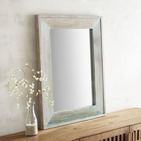 Oisin Ombre Wood Framed 30x40 Mirror
