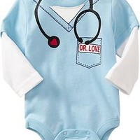 2-in-1 Graphic Bodysuits for Baby