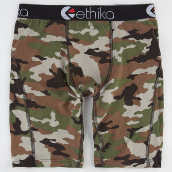 Ethika The Staple Boxers Camo  In Sizes