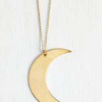 Boho Crescents of Style Necklace by ModCloth