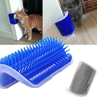 Cat Self Groomer Brush Pet Grooming Supplies Hair Removal Comb for Cat