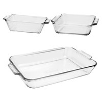 Glass Bakeware 3-pc. Value Pack ANCHOR