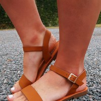 Your Everyday Sandals: Cognac