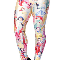 Disney Princesses Leggings Design 146
