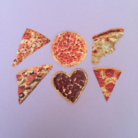 Pizza Sticker Set
