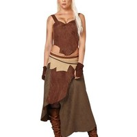 Game of Thrones Daenerys Targaryen Dothraki Womens Costume – Spirit Halloween
