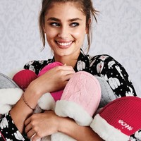 Victoria's Secret The Embroidered Cozy Slipper
