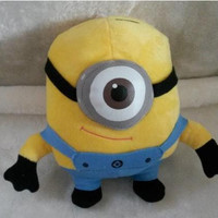 Despicable Me Minions Baby Toys Children's Stuffed Plush Toy Carl Stuart Dolls Hot Sale