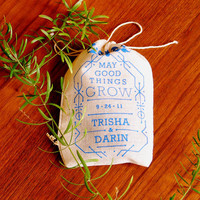 $30.00 Wedding Favor Seed Bombs  Personalized DIY by visualingual on Etsy