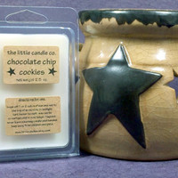 Chocolate Chip Cookies Soy Wax Melt - Hand Poured and Highly Scented Soy Wax Tart