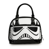 Star Wars Stormtrooper Patent Mini Dome Bag - View All - Brands