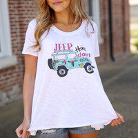 judith march - jeep hair don't care  top