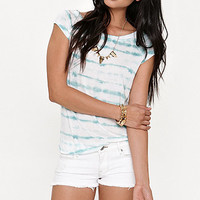 Lilu Raglan Shirttail Tee at PacSun.com