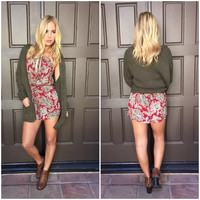 Ivy League Paisley Romper
