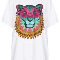 **OVERSIZED T- SHIRT BY ILLUSTRATED PEOPLE