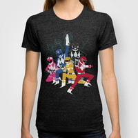 power glove rangers T-shirt by Louis Roskosch | Society6