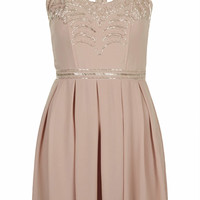 **CAGE CUT-OUT DRESS BY TFNC