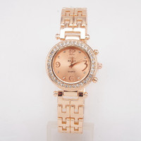 REALY Luxury Diamond Case Small Dial Ladies Dress Wristwatch Fashion Women Analog Quartz Watch
