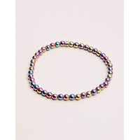 Rainbow Hematite Mini Energy Gemstone Bracelet