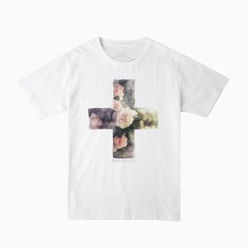 Archives | Floral Cross Tee