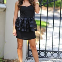 Jaclyn's Going Out Dress: Black   Hope's