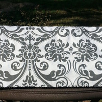 Damask Print Fabric Lined Cover Cozy fits the Silhouette Cameo