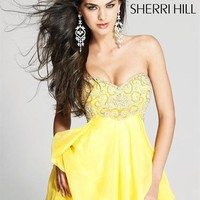 Sherri Hill Short Dress3834 at Prom Dress Shop