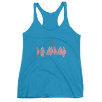 The Def Lep Band Tee Racerback