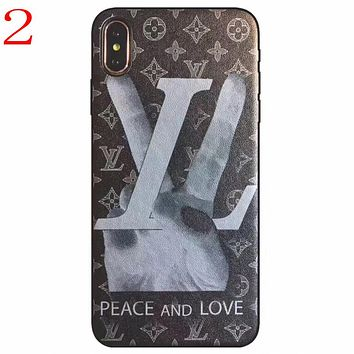 Perfect Louis Vuitton LV  Phone Cover Case For iphone 6 6s 6plus 6s-plus 7 7plus 8 8plus iPhone X XS XSmax XR