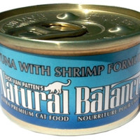 Natural Balance Ultra Tuna/Shrimp Can Cat Food 24/3 oz