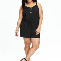 Old Navy Womens Plus Cami Rompers