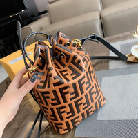FENDI FF Leather Bucket bag