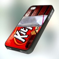 PB0381 KIT KAT Design For IPhone 4 or 4S Case / Cover